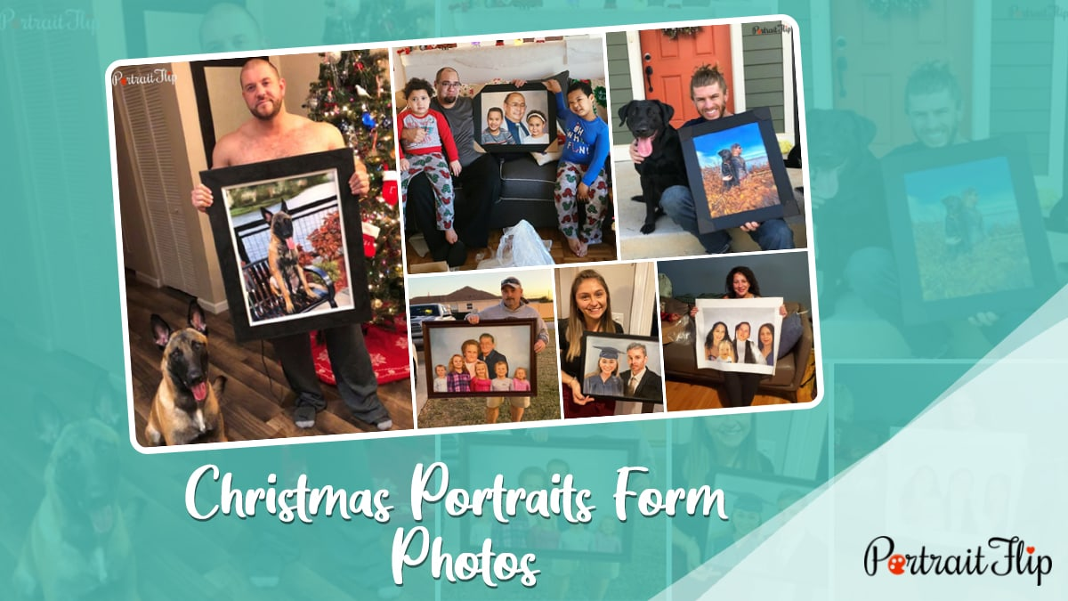 Christmas Portraits From Photos