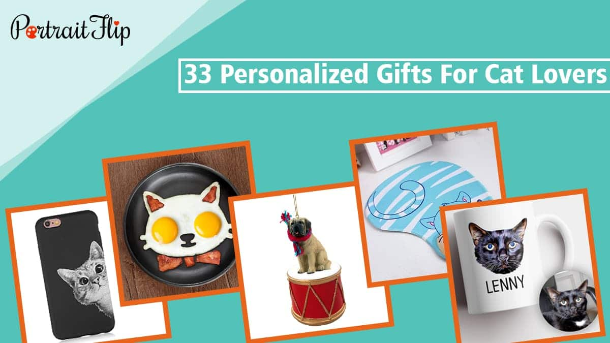 33 personalized gifts for cat lovers