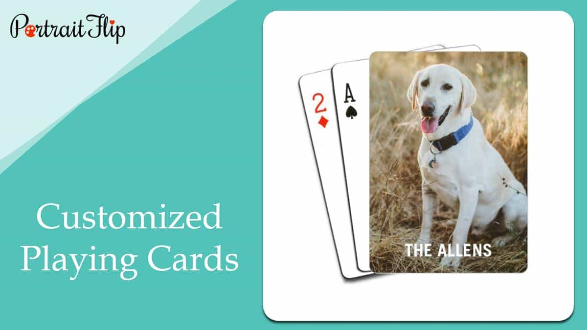 Customized playing cards