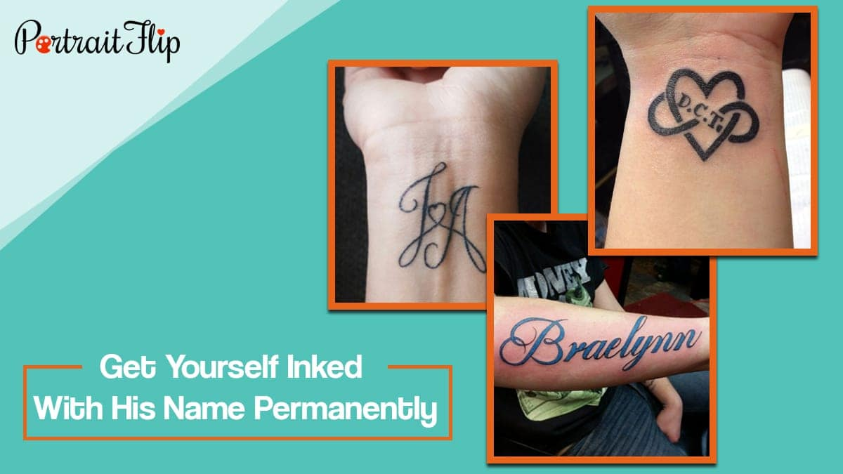 Get yourself inked with his name permanently