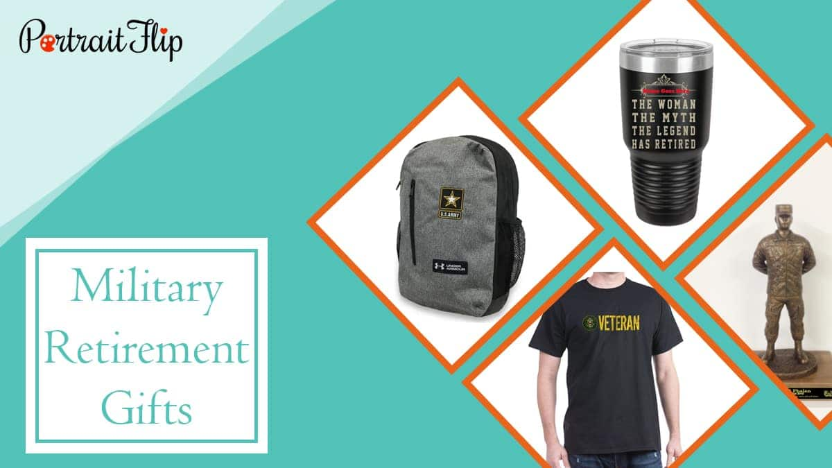 Military retirement gifts