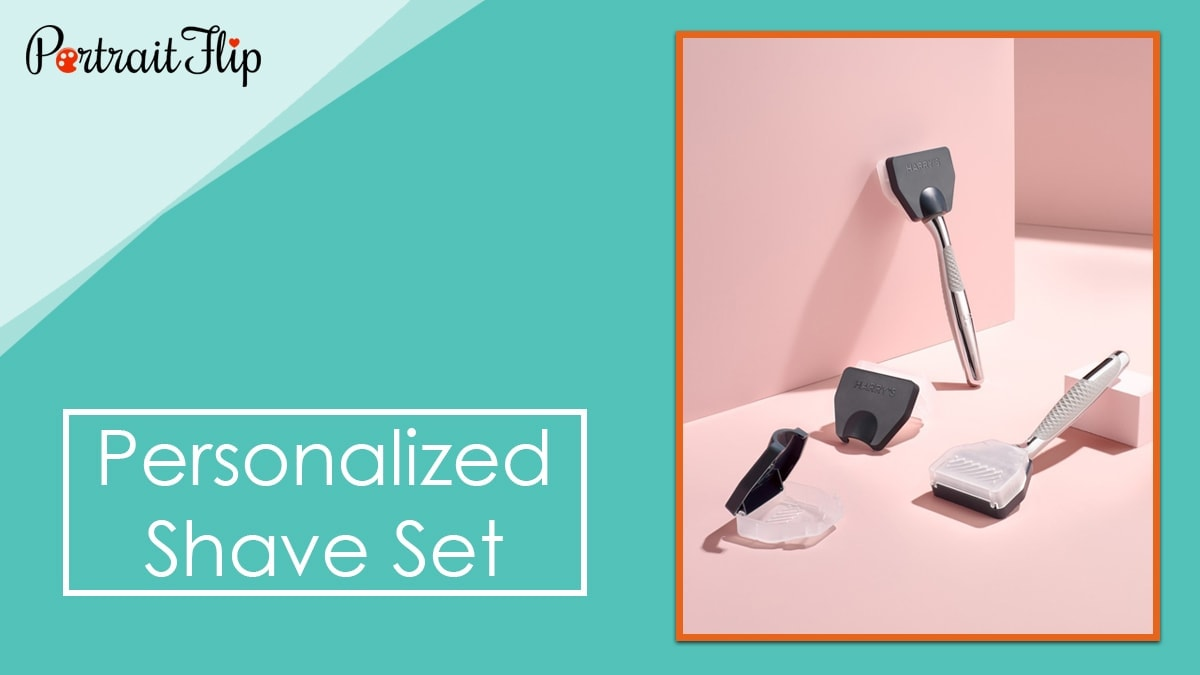 Personalized shave set