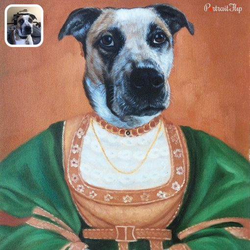 Royal Oil Painting on Canvas