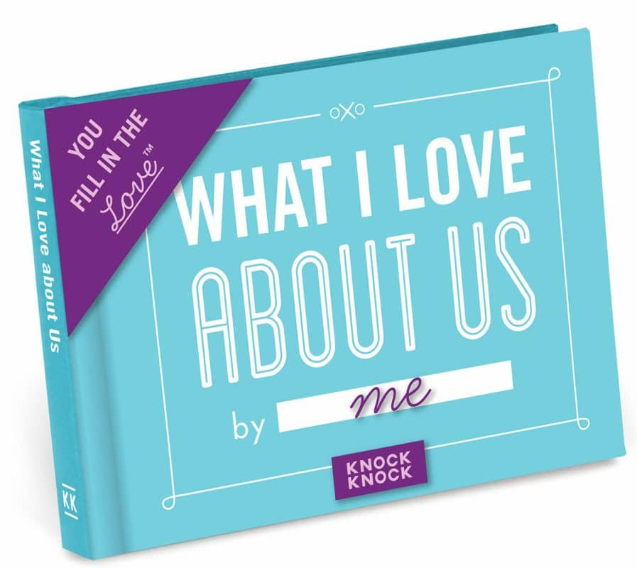 Knock Knock What I Love About Us Gift Journal.