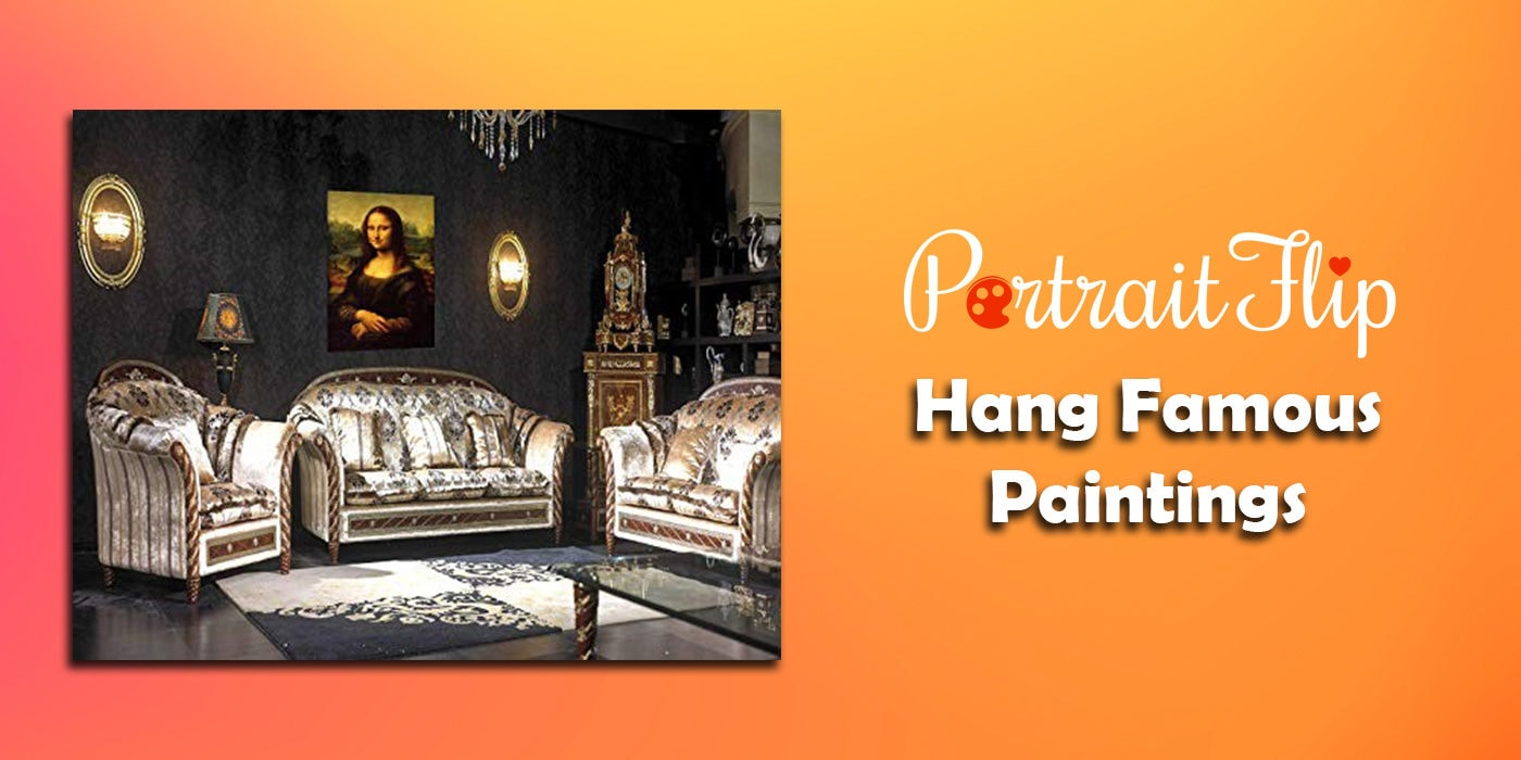 hang famous paintings
