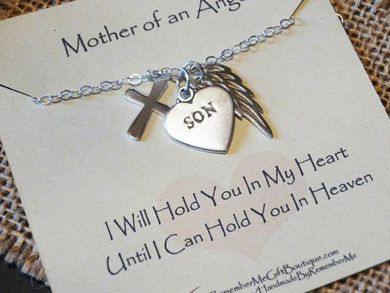 Memorial gifts for loss of son