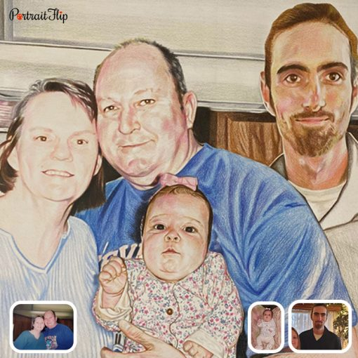 Bad Photos Colored Pencil Drawing From Photo