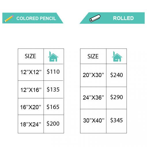 COLOREDPENCIL HOUSE pricing