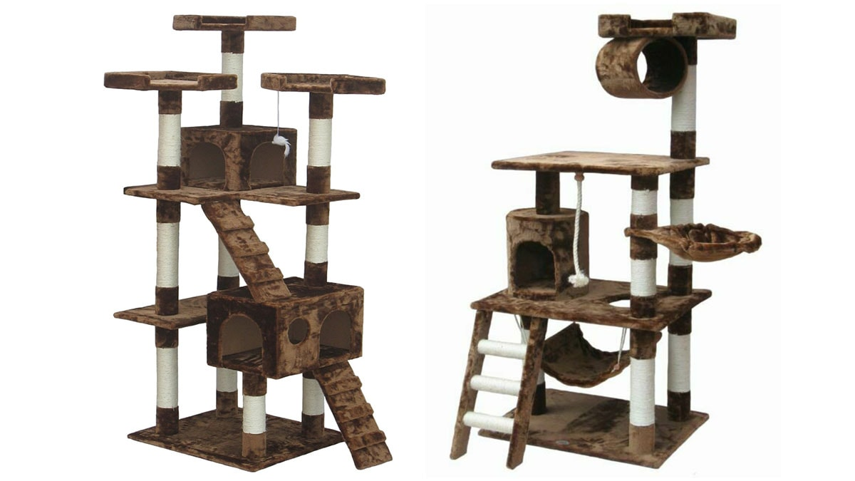 Cat condo as a Christmas gift for pets