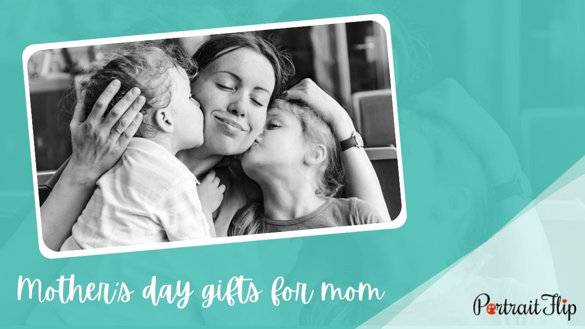 Mother's Day Gifts For Mom PortraitFlip