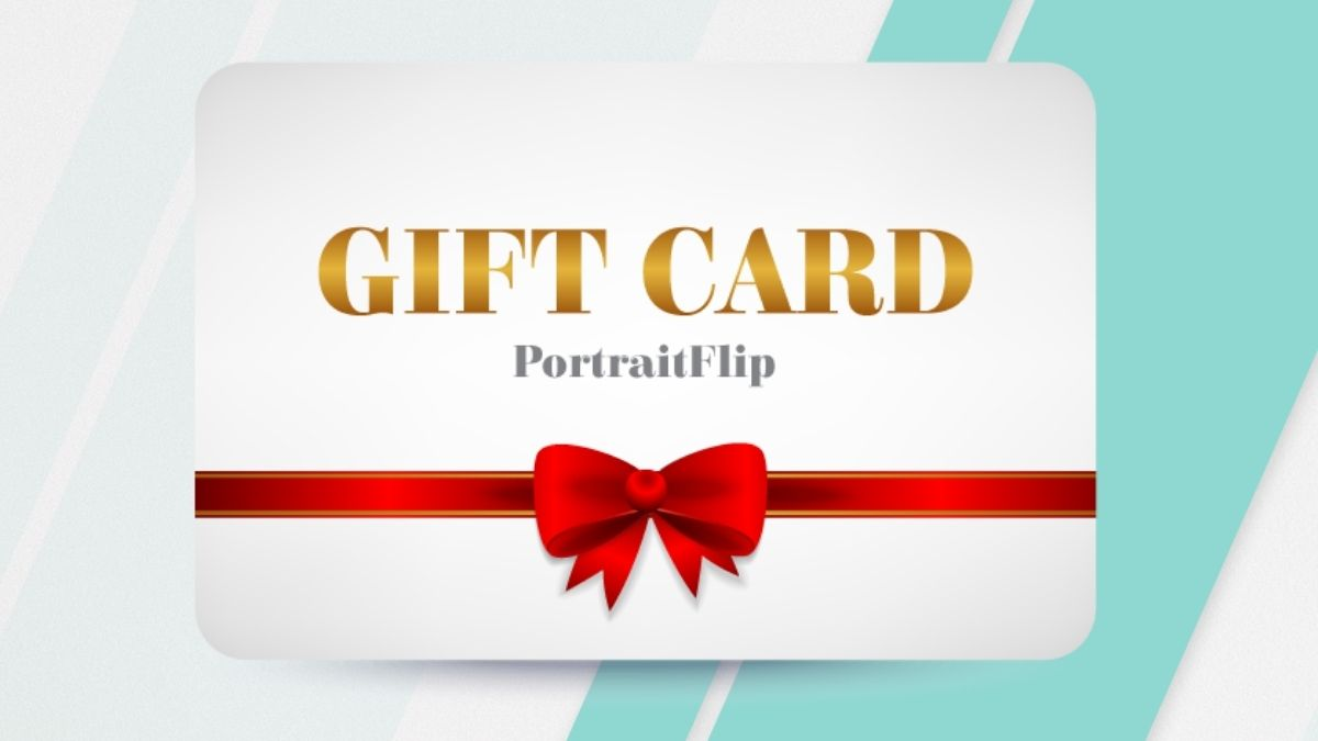 A Gift Card PortraitFlip Mother's Day Gifts