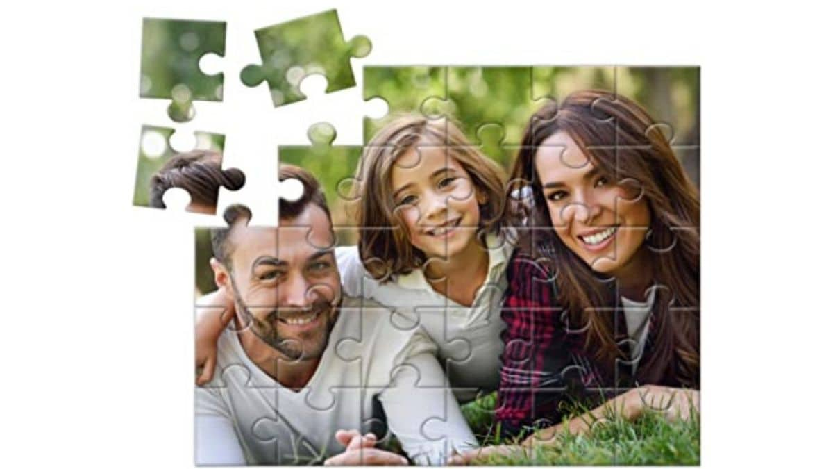 A Personalized Puzzle PortraitFlip Mother's Day Gifts