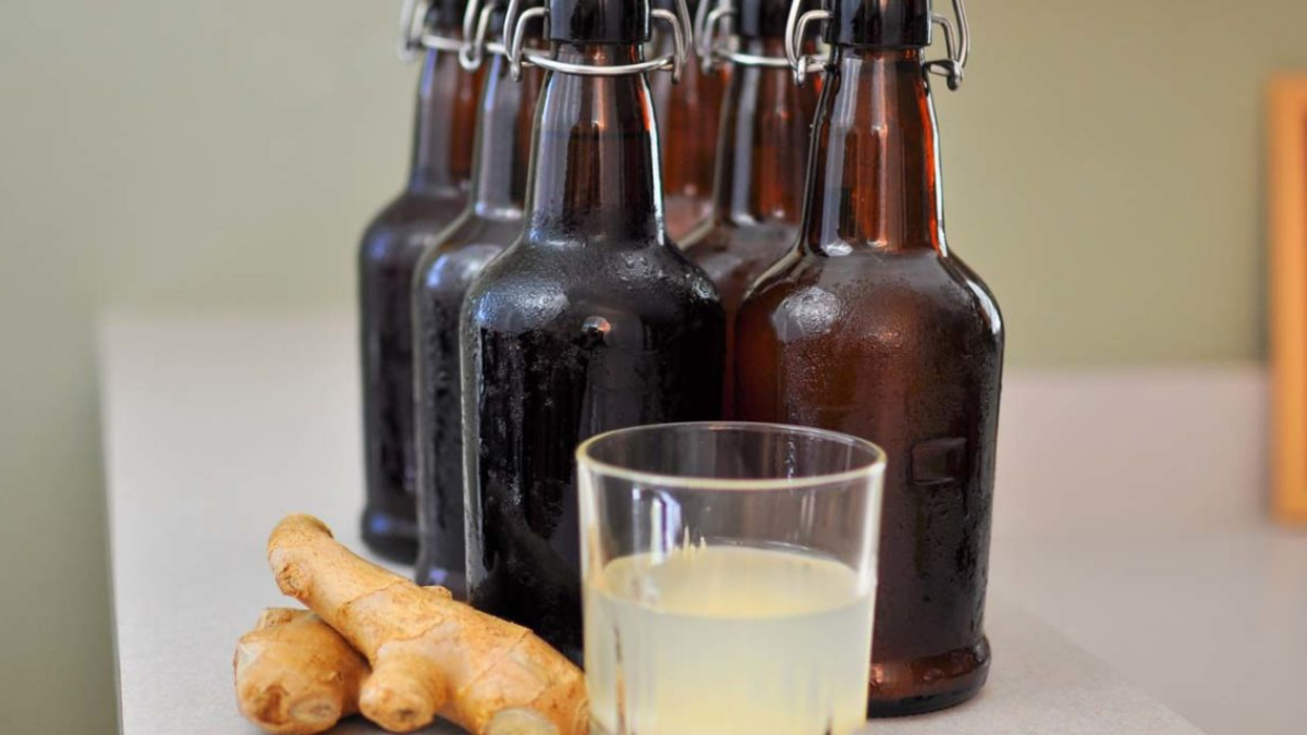 Brew A Homemade Ginger Beer