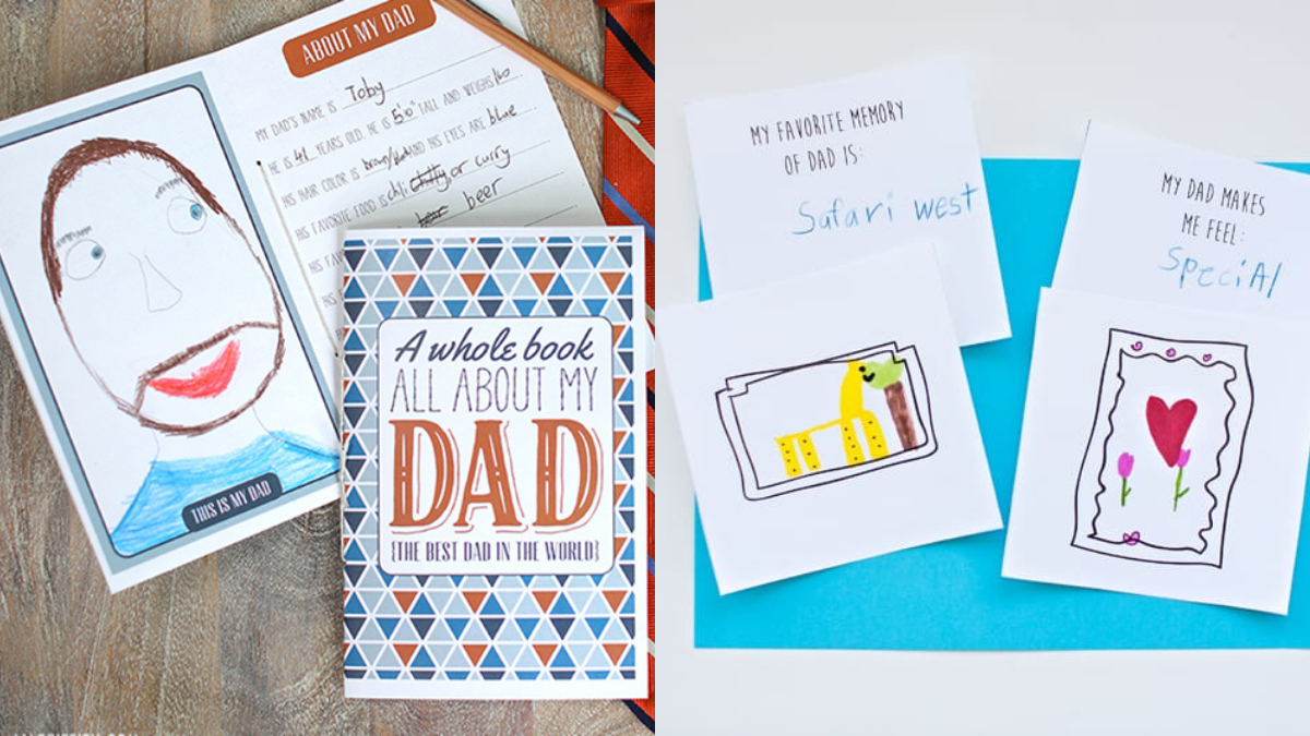 """Make An """"All About My Dad"""" Book"""