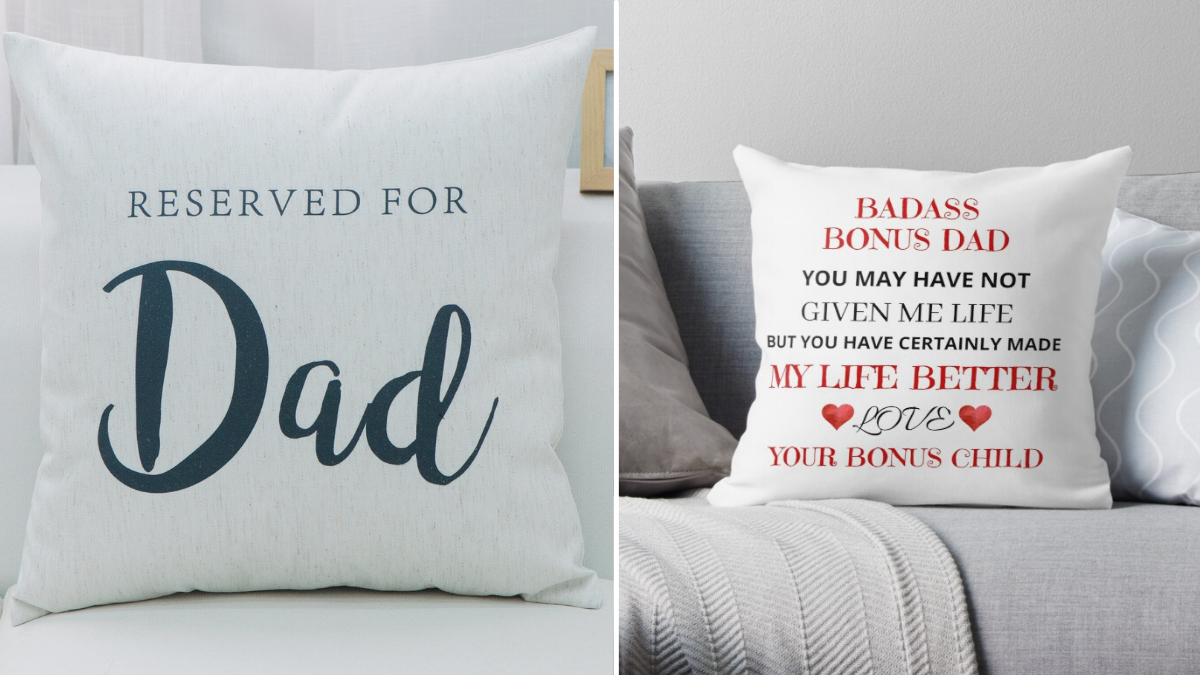 A Personalized Throw Pillow