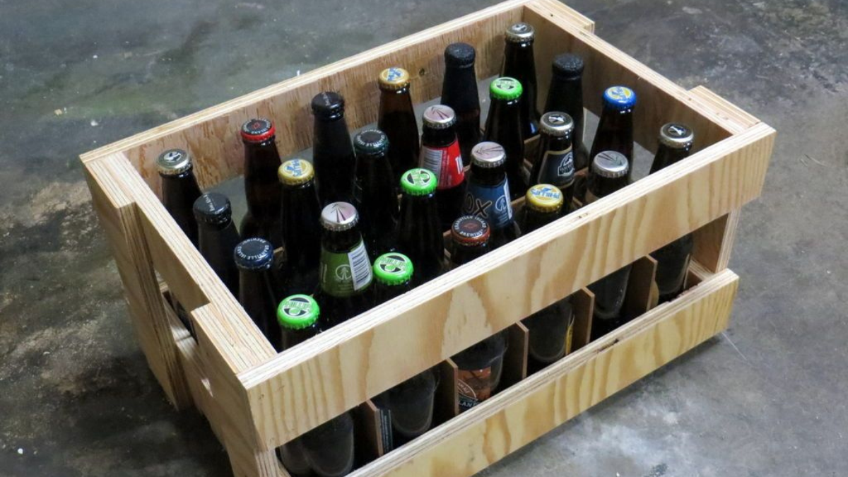 A Crate Of Beer