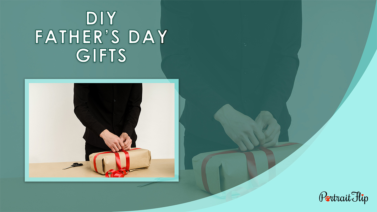 DIY Father's Day Gifts PortraitFlip