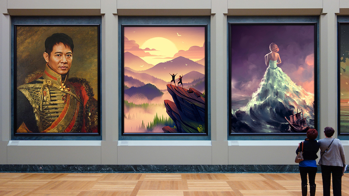 will digital art replace traditional art forever?