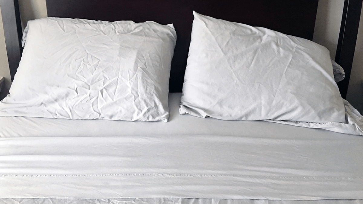 white bamboo bed sheets