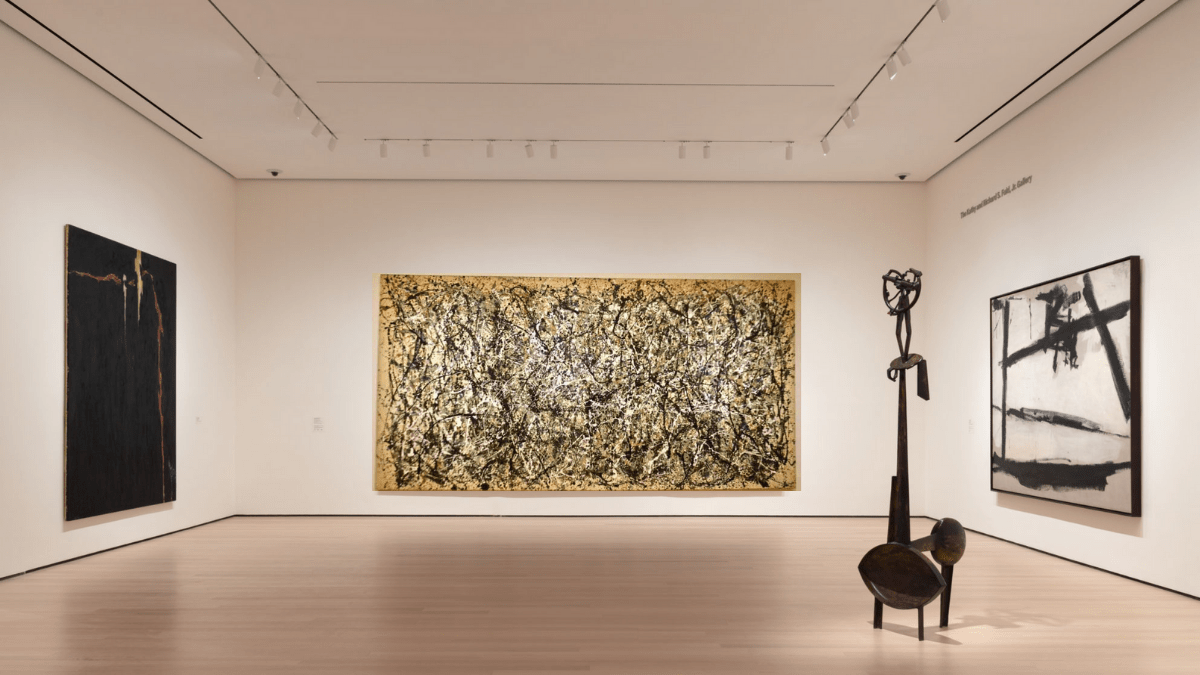 The 17th most expensive painting 'No. 5, 1948' by Jackson Pollock is a part of the a private collection in new york.