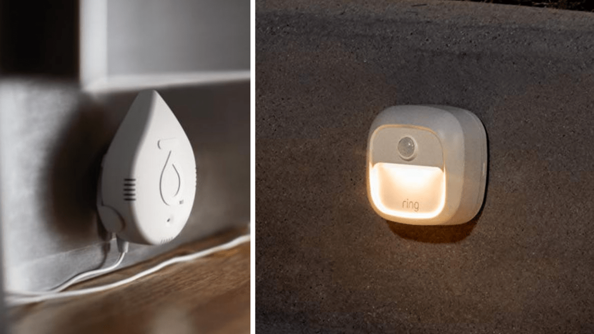 water and light sensors