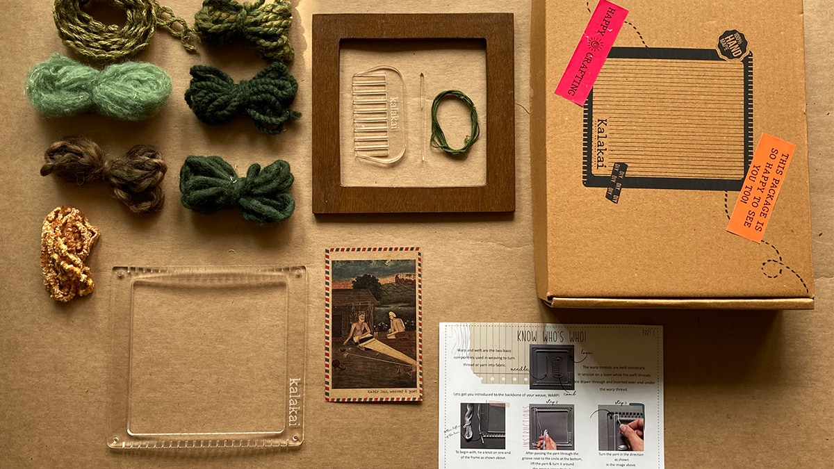 a DIY kit with all the materials required to do the project.