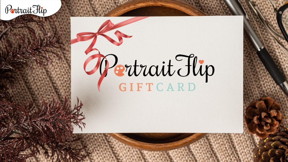 A gift card by portraitflip