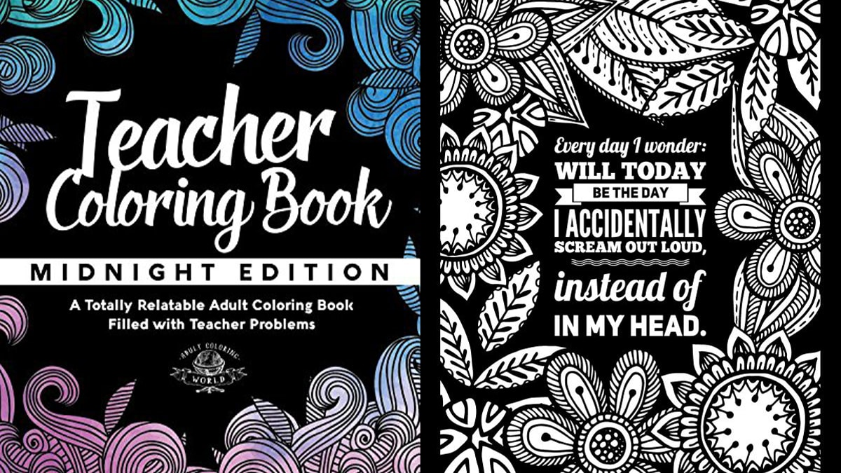 teacher coloring books: painting