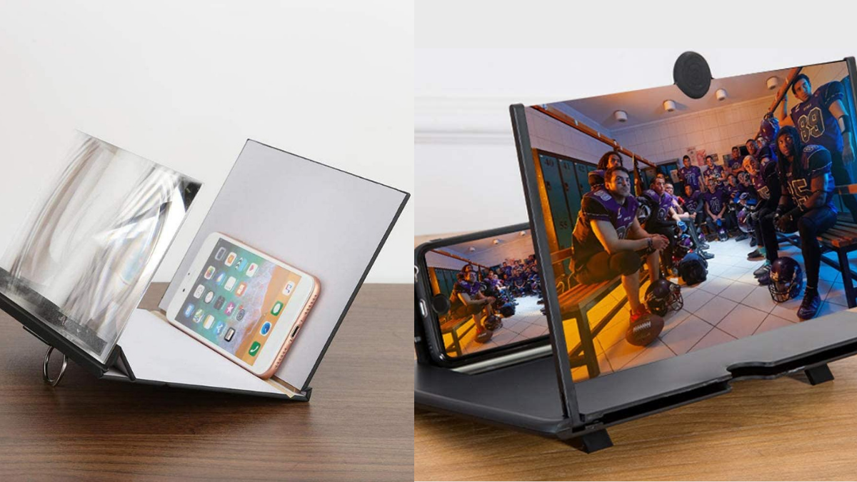 A cell phone screen magnifier for your grandpa to comfortably enjoy his movies and browsing. This cheap christmas gift for grandpa is a good option if he hates small screens.