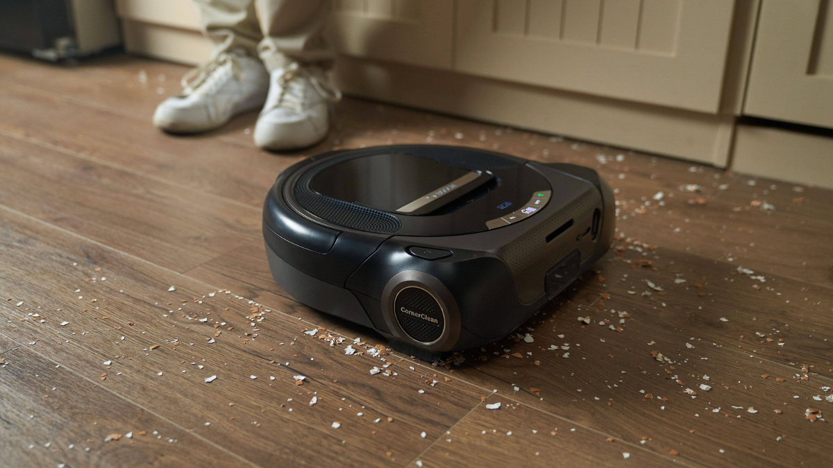 A vacuum robot that cleans all the mess felt behind your grandpa. It is a perfect Christmas gift for grandpa.