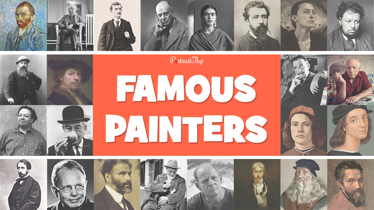 23 Famous Painters Who Transformed The Course Of Art Forever portraitflip
