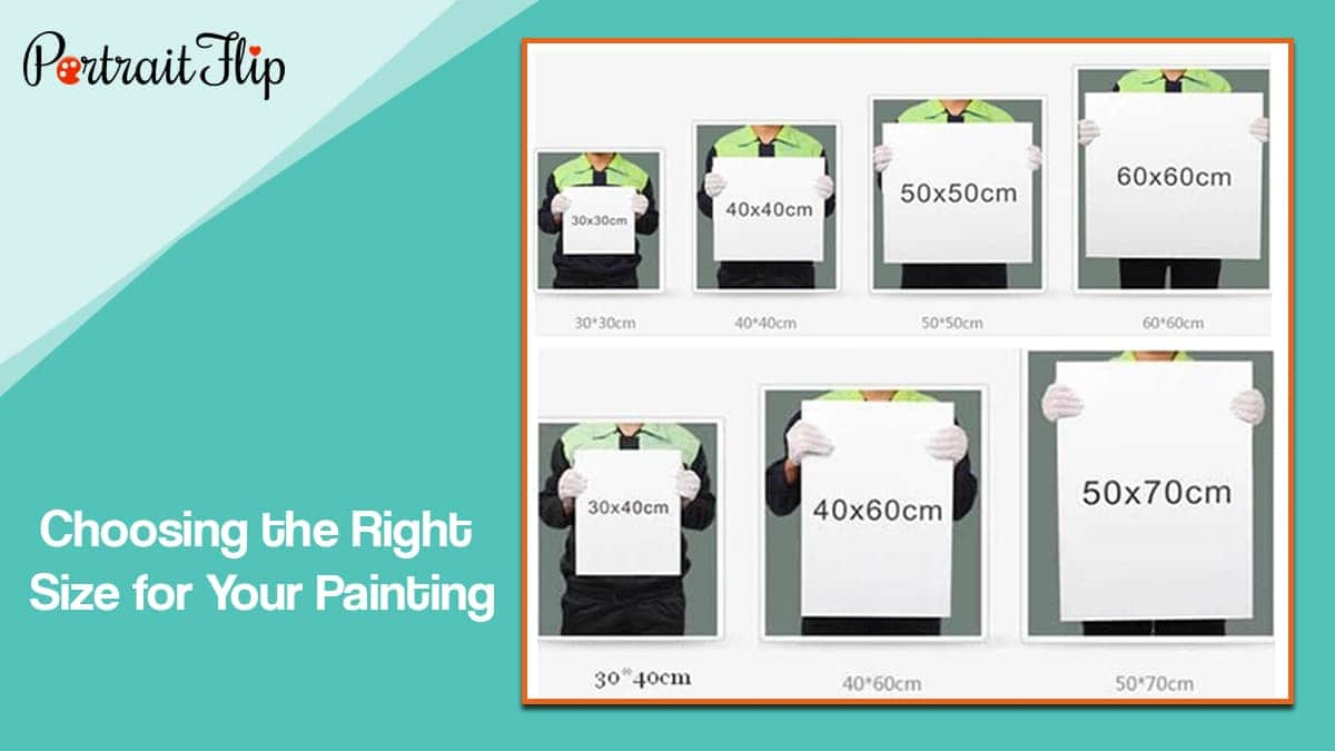 Choosing the right size for your painting