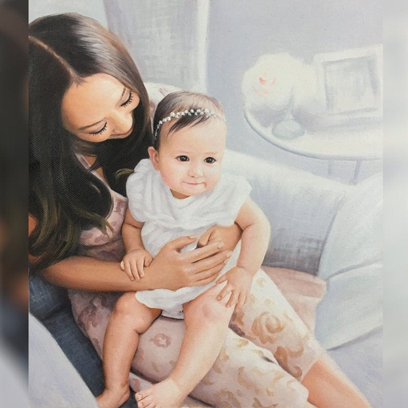 Mother's day painting cover