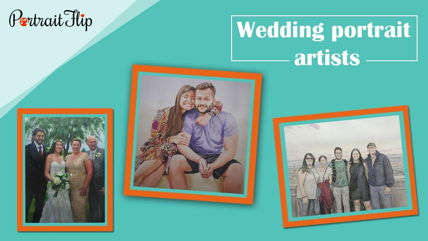 Wedding portrait artists